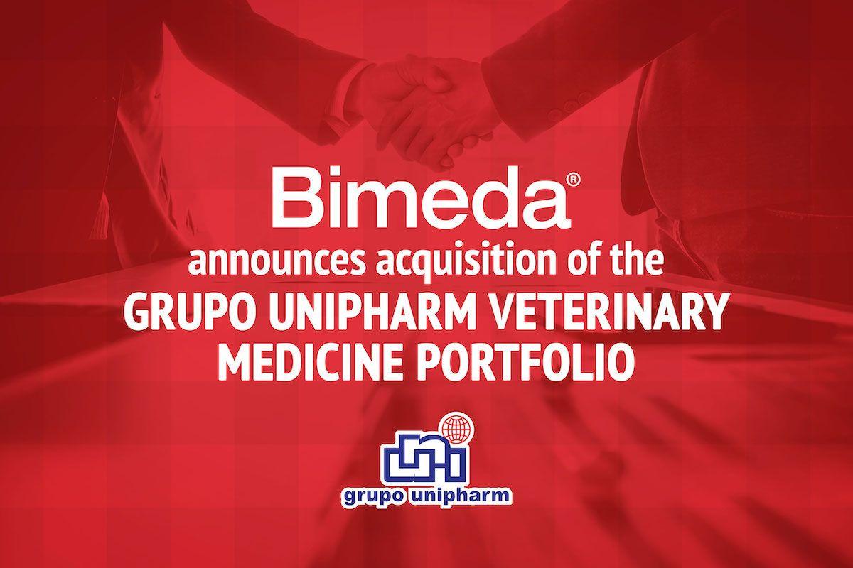 Bimeda Announces Acquisition of Grupo Unipharm Veterinary Portfolio