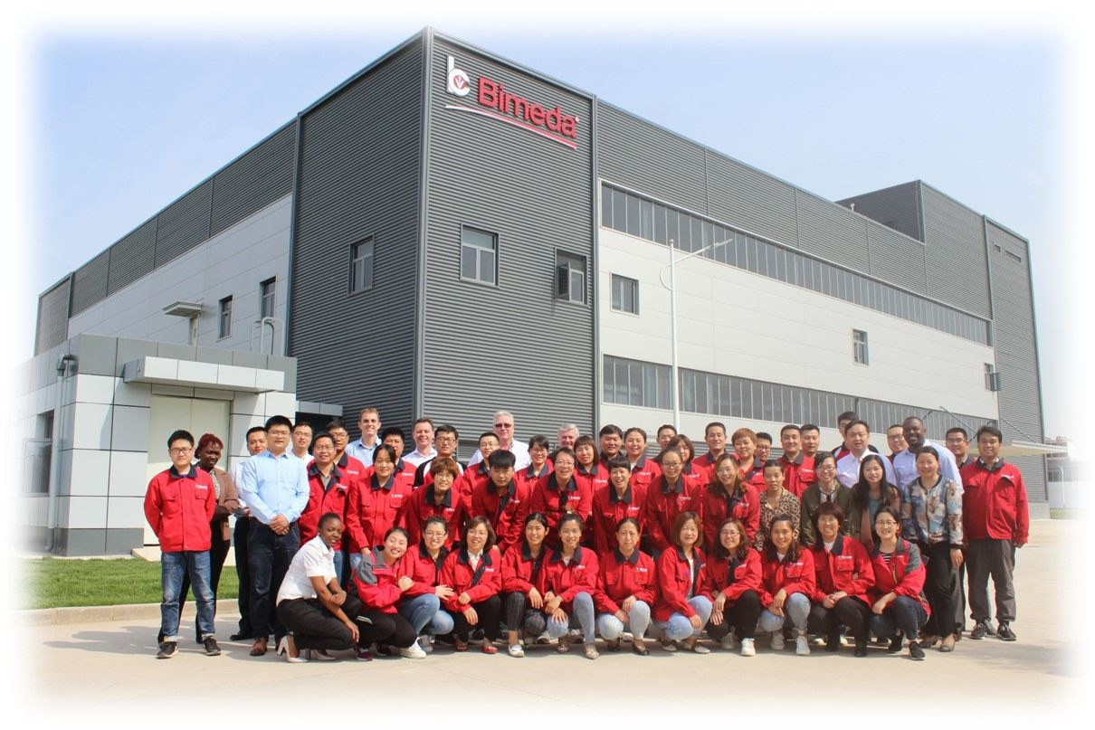 State-of-the-art manufacturing facility in Hebei, China